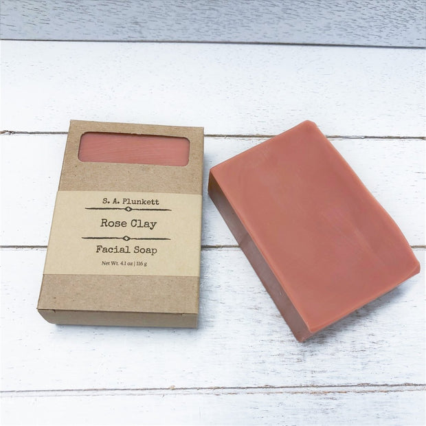 Rose Clay Facial Soap 1