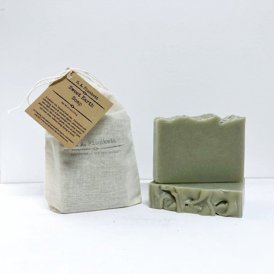 Sweet Earth Soap - S A Plunkett Naturals