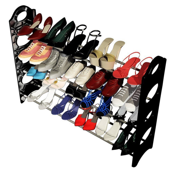 4 Layers 20 Pairs Shoe Rack