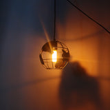 Modern Simple Iron Geometric Shape (Globe) Ceiling Lamp