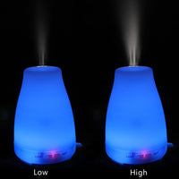 110V 200ML RGB Aroma Diffuser with White Controller