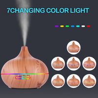 110V 500ML RGB Aroma Diffuser with White Controller