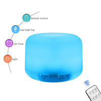 110V 500ML RGB Aroma Diffuser with Black Controller