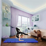 "55""x24""x1.2"" Tri-fold Gymnastics Yoga Mat for Kids"