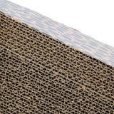 Cat Scratching Corrugated Board