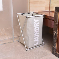 Aluminum Alloy Single Lattice Storage Laundry Basket