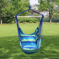 Hanging Rope Hammock Chair Swing Seat, 3 colors
