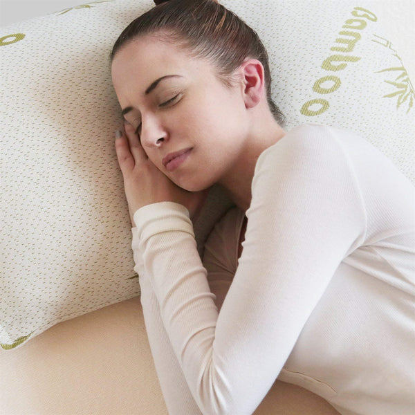 Bamboo Fiber Memory Foam Pillow