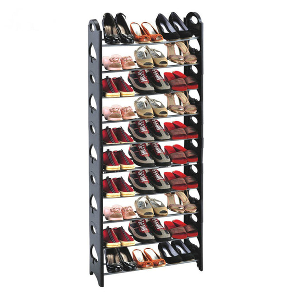 10 Tier Shoe Rack | 50 Pairs