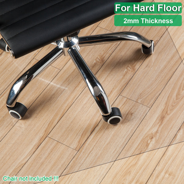 PVC Dull Polish Chairmat Protection Floor Mat