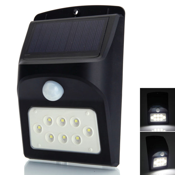 8 LED Motion Sensing Detection Solar Light
