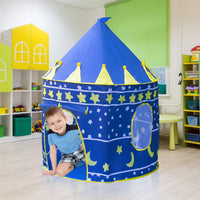 Children Kids Castle Cubby Play House