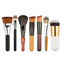 7pcs Foundation Cheek Color Applicator Contour Brush Makeup Brush Set