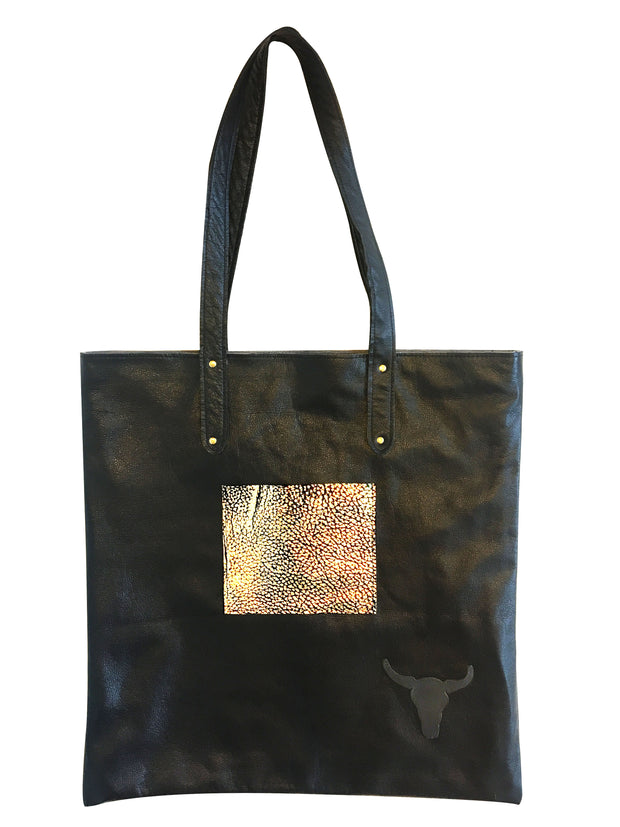 Luxe Midnight Tote