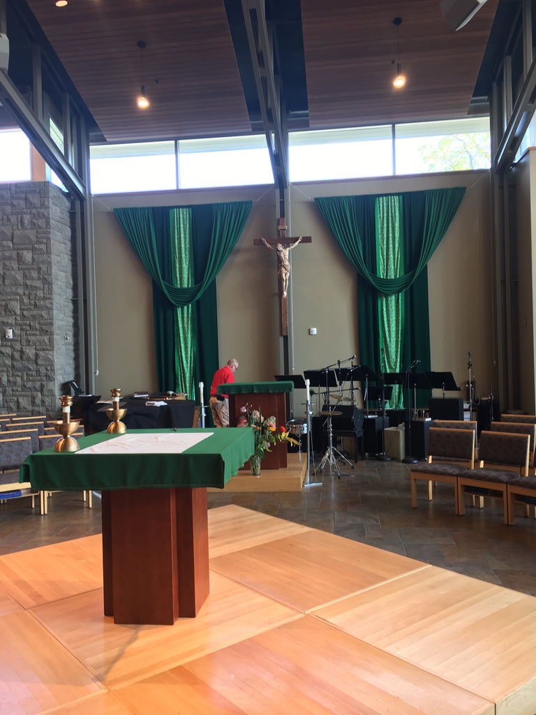 Hanging Crucifix for St. Thomas More at Western Michigan University
