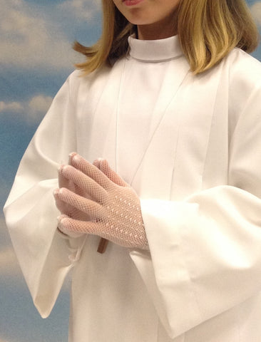 First Communion gloves - SO-0155