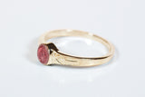 Miraculous Ring 14 Karat Gold with Pink Epoxy  - FN0511PMKT