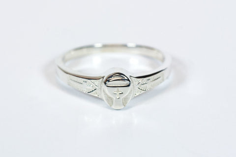 Chalice Ring Sterling Silver - FN0513SS