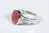 Miraculous Ring Sterling Silver Pink Epoxy - FN0520PMSS