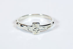 Rosary Ring Sterling Silver - FN0522SS