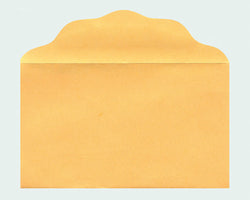 Blank Size No. 3 Goldenrod Offering Envelopes - MA07596