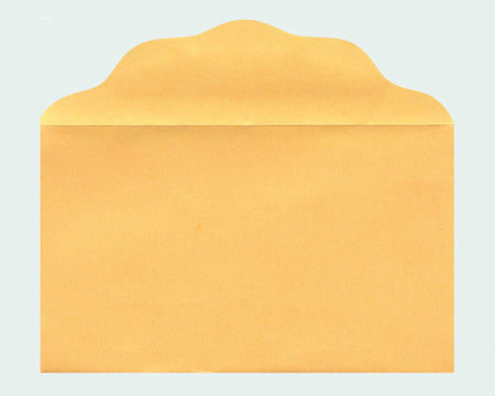 Blank Size No 3 Goldenrod Offering Envelopes
