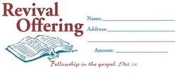 Revival Offering Envelopes - MA74544