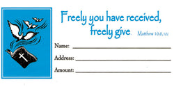 Freely Given Offering Envelopes - MA04326