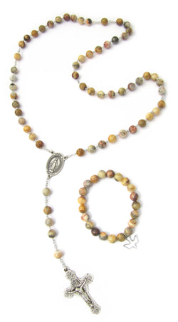 Agate Rosary-FM58558