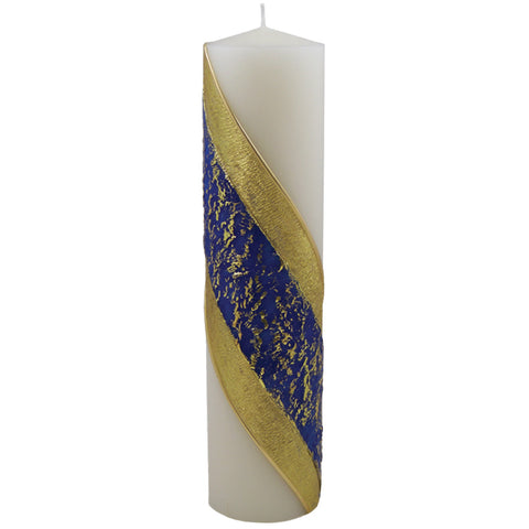 HE83520 - Blue Advent Pillar