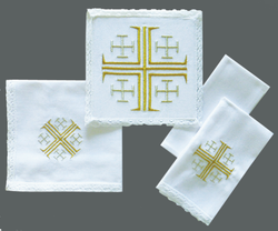 Jerusalem Cross Mass Linen XZ10-722