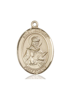St. Isidore of Seville Medal - FN7049KT