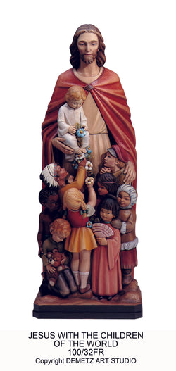 Jesus Protector of All Children - HD10032FR