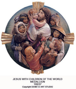 Jesus Protector of All Children - Medallion - HD10037