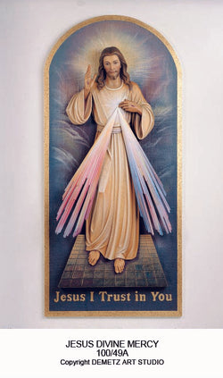 Jesus Divine Mercy - High Relief - HD10049A