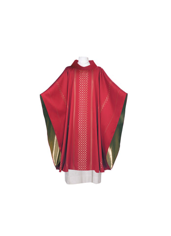 Red Chasuble - JG102-7708R