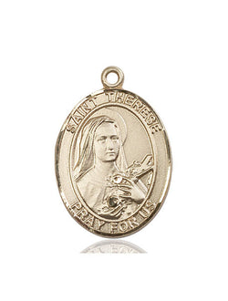 St. Therese of Lisieux Medal - FN7210KT