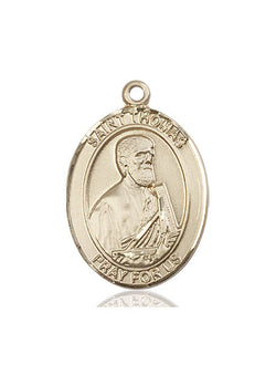 St. Thomas the Apostle Medal - FN7107KT