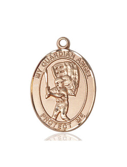 Guardian Angel/Baseball Medal - FN7700KT