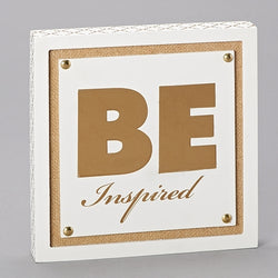 Be Inspired Plaque - LI10871