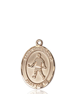 St. Christopher / Field Hockey Medal - FN8195KT