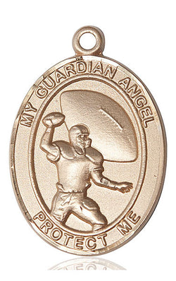 Guardian Angel/Football Medal - FN7701KT