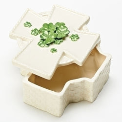 Irish Cross Keepsake Box - LI10999