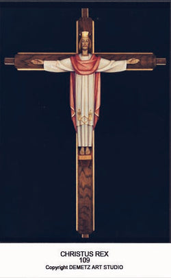 Christ The King - With Cross - HD109