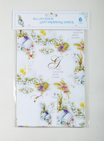 Wrapping Paper - All Occasion - LA118002