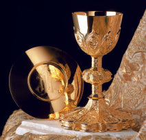 Chalice and Paten with Ring-EW2445