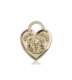 Communion Heart Medal - FN3404KT
