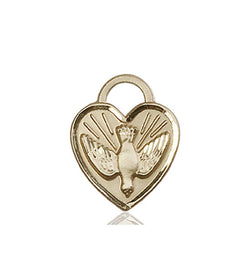 Confirmation Heart Medal - FN3405KT