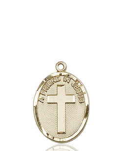 A Friend In Jesus Medal - FN0881KT