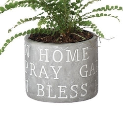 Pot- Home, Pray, Bless - LI11828